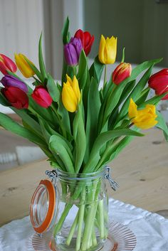 Morning Walterboro !............ Good morning  Hope your day is as colorful and fun as these tulips