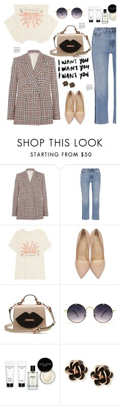 """""""Casual for weekend....."""" by hamaly ❤ liked on Polyvore featuring Étoile Isabel Marant, M.i.h Jeans, The Great, Charlotte Olympia, Spitfire, Bobbi Brown Cosmetics and Chantecler"""