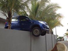 Fence... #ParkingFail