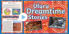 This PowerPoint can be used to teach students about the famous Australian landmark of Uluru. Tags in this resource: Uluru-Map-Black-and-White. Aboriginal Symbols, Aboriginal Culture, Spiritual Stories, Australian People, His Travel, Teaching, Education, Onderwijs, Learning