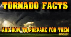 Tornado Facts, Myths and How to Prepare for them | To get a better understanding of tornado's and how to prepare for a tornado's you need to be...