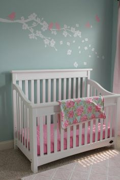 """I had to do a """"double-take"""" because this looks very similar to my little baby girls room! Love it!"""