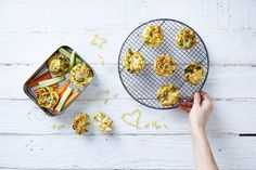 We've come up with the perfect compact way to get three lots of veg into your kiddies lunchboxes!