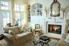 Outstanding Shabby Chic Living Room www.great-home-de… The post Shabby Chic Living Room www.great-home-de…… appeared first on Marushis Home Decor . Living Pequeños, Cottage Living Rooms, Shabby Chic Living Room, Shabby Chic Homes, Shabby Chic Decor, Living Room Decor, Rustic Decor, Country Decor, Small Living Room Design