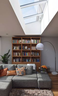 20 The Most Popular Ideas Making Low Ceilings - walmartbytes Living Room Interior, Home Living Room, Living Room Designs, Kitchen Interior, Interior Design Styles Quiz, Skylight Design, Fireplace Design, New Homes, House Design