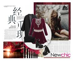 """""""Newchic 6"""" by leilathunder ❤ liked on Polyvore"""