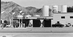 Earl Miller's Phillips 66 station on Wall Ave. in Ogden, Utah. Photography by David E. Phillips 66, Ogden Utah, Gas Service, Best B, Interesting Buildings, Gas Station, David, Oil, Landscape