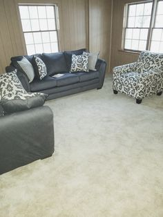 I found a Simmons Flannel Charcoal Living Room Furniture Collection