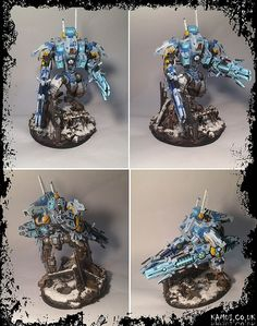 Tau R'varna battlesuit Bork'an sept | Flickr - Photo Sharing!