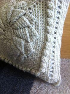 Victorian Crochet Cushion