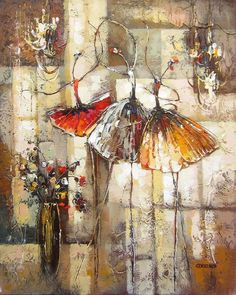 Avec grâce 2 - Gendelman, Irene - Artistes - Galerie Beauchamp