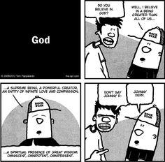 God - a #comic by Tom Pappalardo