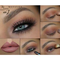 Summer, cat eye, motives, eye shadow, matte lipstick, seduce, eyeliner