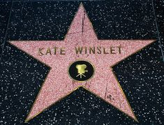 Kate Winslet's Star on the Hollywood Walk of Fame, located on the South side of the 6200 block of Hollywood Blvd. by Tom Allmon