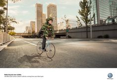 Volkswagen Blind Spot Sensor: Visible Advertising Agency:DDB, Buenos Aires, Argentina