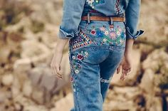 Spell-The-Gypsy-Collective-Designs-Love-Child-Flares-Blue-size-S