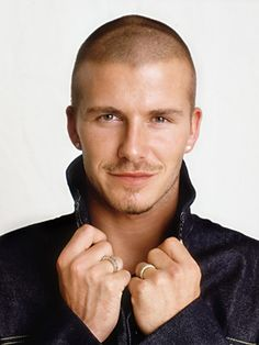 David Beckham - Men's buzz cut hairstyle