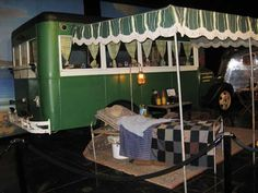 Funky Vintage Travel Trailer | 1935 ChevroletHouse CarCollection ofFunky Junk Farm