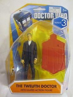 Doctor Who Wave 3 The Twelfth Doctor Peter Capaldi Articulated Action Figure BBC #TwelfthDoctor #DoctorWho
