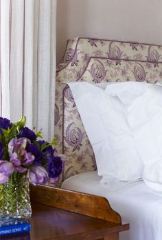 A hint of lavender ~ Cullman and Kravis design
