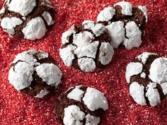 Get David Rocco& Chocolate Espresso Cookies Recipe from Cooking Channel Holiday Cookie Recipes, Cookie Desserts, Holiday Cookies, Dessert Recipes, Gourmet Desserts, Cookie Ideas, Plated Desserts, Baking Recipes, Chocolate Espresso