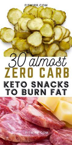 Keto Snacks To Buy, Carb Free Snacks, Good Keto Snacks, Diet Snacks, Healthy Snacks, Delicious Snacks, Carb Free Foods, Keto Diet Guide, Ketogenic Diet Meal Plan