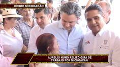 AURELIO NUÑO RECONOCE AVANCE EDUCATIVO EN MICHOACÁN