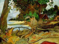 Paul Gauguin (1848-1903) - 1890, The Burao Tree. Chicago