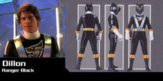 Black Ranger: Dillon - RPM