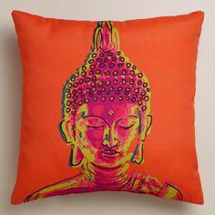 Buddha Outdoor Throw Pillow