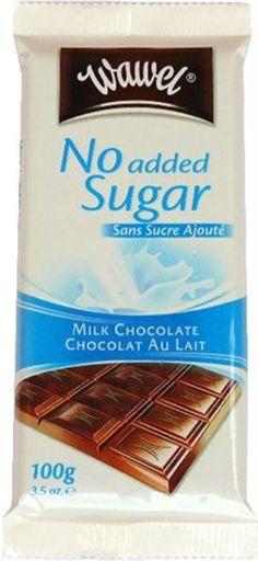 Wawel No Sugar Added Milk Chocolate