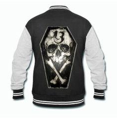 Lucky Thirteen Varsity Rockabilly Jacket