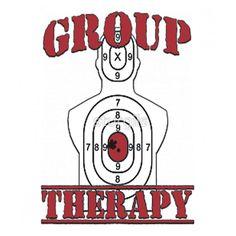 2caa1242d9 Group Therapy Gun Range Target Funny Humor 2nd Amendment Gun Shooting  Range, Outdoor Shooting Range