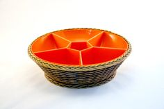 Basket appetizer tray vintage / EMSA made in by EphemereIntemporel