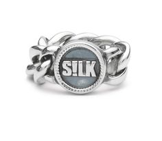 Silver SILK ring // 113 Ring Vishnu // www.silkjewellery.nl