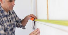 If you're looking to mount objects on your walls, you'll need to rely on framing studs. Here's our easy guide to finding the studs in your home. Sheer Shades, Shades Blinds, Mini Blinds, Blinds For Windows, Finding Studs In Wall, Outside Mount Blinds, Woven Wood Shades, Window Casing, Custom Window Treatments