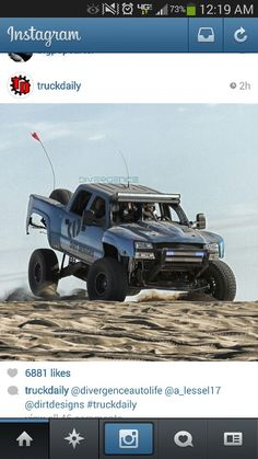 Trophy truck Funny Truck Quotes, Sand Rail, Trophy Truck, Off Road Racing, Gmc Trucks, Ford Ranger, Custom Trucks, Motocross, Offroad