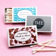 Elite Personalized Matchboxes - set of 50
