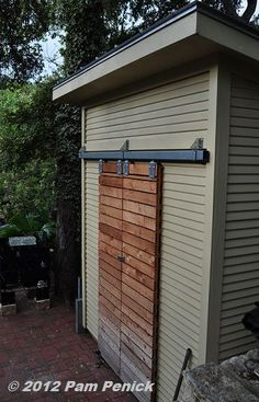 sliding shed door - Google Search