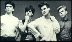The Smiths, Morrissey, Johnny Marr, Mike Joyce, Andy Rourke,