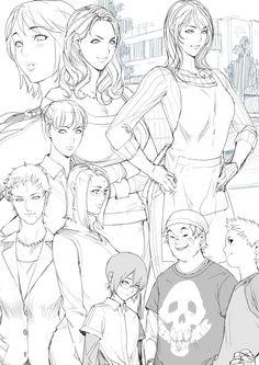 Original Drawn by Oda Non Oda Non, Manga Drawing Tutorials, Indonesian Art, Comic Artist, Monochrome, Comics, Drawings, Illustration, Anime