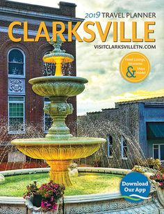 One stop guide to Clarksville, Tennessee Clarksville Tennessee, Travel Planner, Plan Your Trip, Day Trips, Laos, Travel Guide, Fountain, Restaurants, Hotels