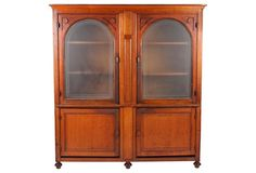 Antique European Apothecary Cabinet - MHD loves this but MHD has no more walls to place it on.