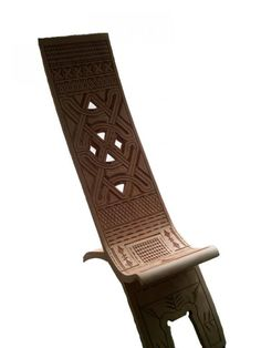 Art of the Marons of Suriname, a manbangi or stool for men