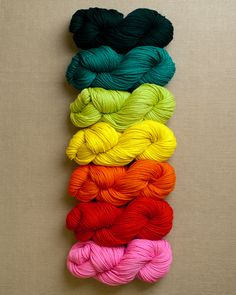KNIT COLOR PATTERNS!!!!!!  purl soho | products | item | yarn for super easy blanket in worsted twist (purl soho)