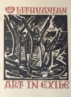 Lithuanian Art in Exile with Dust Jacket