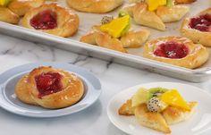 Brioche danesa y molinos de frutas: http://elgour.me/1O5smSj  #elgourmet #TuCanalDeCocina #Dulces