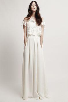 Hochzeitsrobe Mystic Rose Combination von Kaviar Gauche