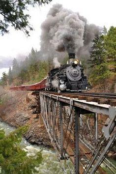 Train To Savannah , Georgia