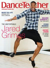 Our April issue, featuring cover-star Jared Grimes, is here: http://bit.ly/1xyB7iW